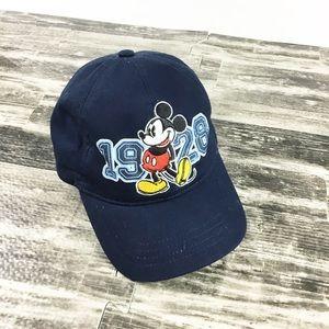 Disney Mickey Hat Cap Blue 1928 Disneyland